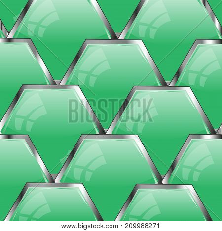 Background from buttons of the green colour