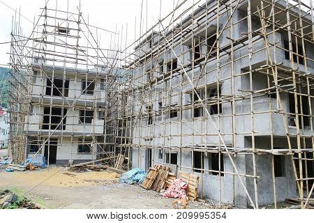Under Construction Of Nt Small House Hk