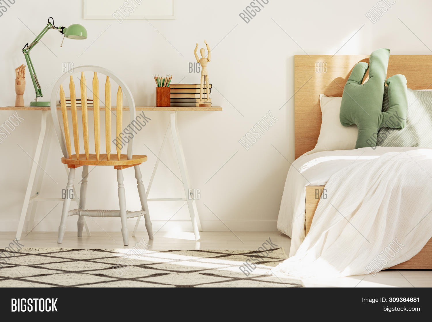 Wooden Chair Front Image Photo Free