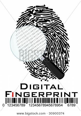 Digital Fingerprint Online ID