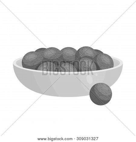 Vector design of aquaculture and platensis logo. Collection of aquaculture and fresh stock symbol for web. poster