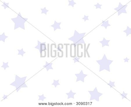Background Blue Stars