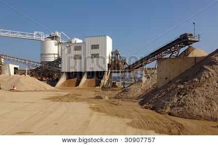 Industrial cement plant