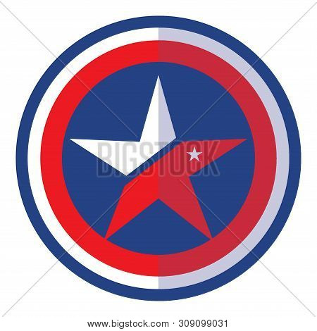 Star Shield Icon, Star Shield Icon Eps10, Star Shield Gold Icon Vector, Star Icon Shield Eps, Star S