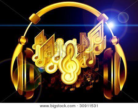 Music Of Headphones