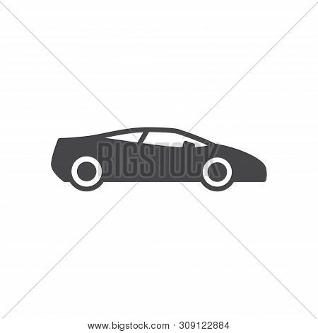 Sports Car Vector Icon On White Background. Sports Car Icon In Modern Design Style. Sports Car Vecto