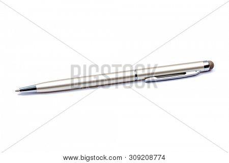 Ballpoint pen isolated on white background