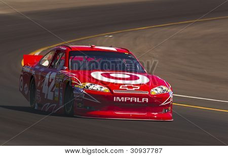 Avondale, Az - Mar 03, 2012:  Juan Pablo Montoya (42)  Brings His Car Through Turn 4 During The Subw