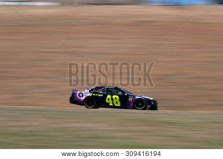 June 21, 2019 - Sonoma, California , USA: Jimmie Johnson (48) practices for the TOYOTA/SAVE MART 350 at Sonoma Raceway in Sonoma, California .