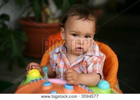 Cute Toddler Boy
