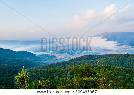 The Iconic View Of The Camping Point On Top Of The Mountain At Phu Taopong, The Unseen Destination O