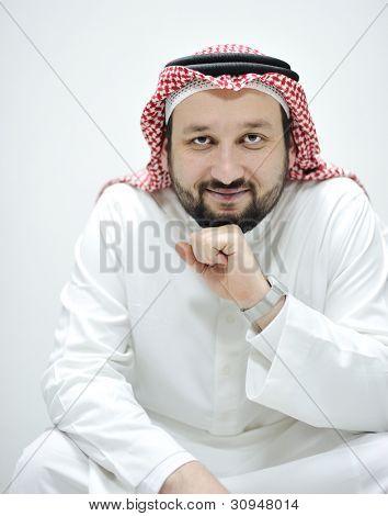Portrait of Middle Eastern man