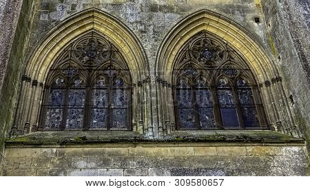 Le Mans, Maine, France - May 28: Cathedral Of Saint Julian (cathedrale St-julien Du Mans) On 28 May