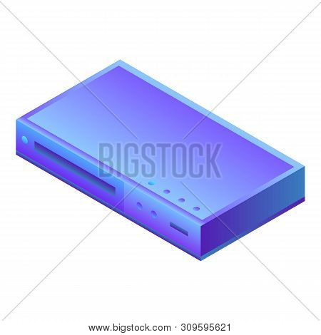 Tv Tuner Icon. Isometric Of Tv Tuner Vector Icon For Web Design Isolated On White Background