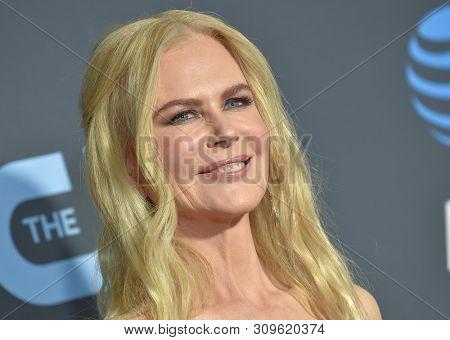 LOS ANGELES - JAN 13:  Nicole Kidman arrives to the 24th Annual Critics' Choice Awards  on January 19, 2019 in Hollywood, CA