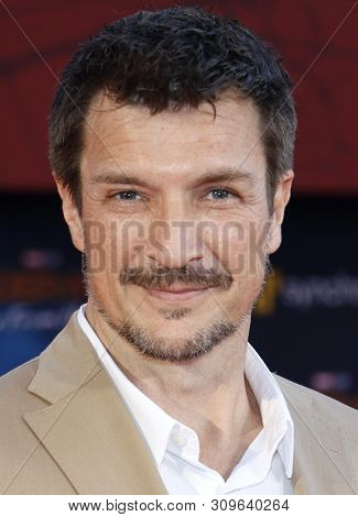 Nathan Fillion at the World premiere of 'Spider-Man Far From Home' held at the TCL Chinese Theatre in Hollywood, USA on June 26, 2019.