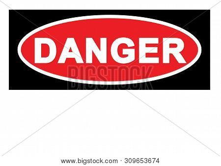 Warning Sign Danger Sign With Blank Space For Your Text Printable Paper Templates Available For A4 P