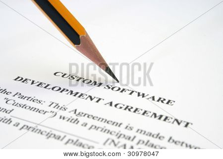 Software Agreement