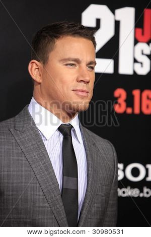 LOS ANGELES - MAR 13:  Channing Tatum arrives at the