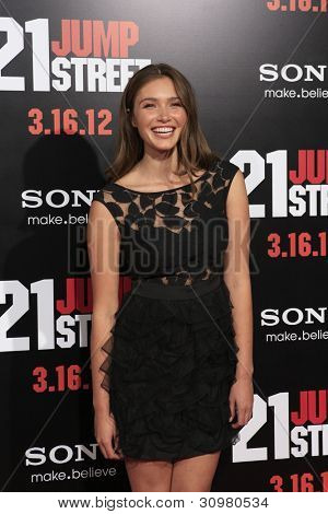 LOS ANGELES - MAR 13:  Chanel Celaya. arrives at the