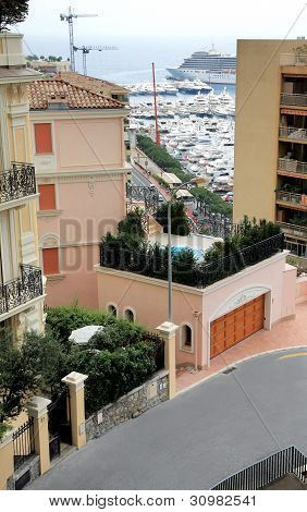 One Of The Streets Monaco Monte Carlo