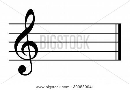 C Major And A Minor. Key Of C. Major Scale Based On C. One Of Most Common Key Signature In Western M