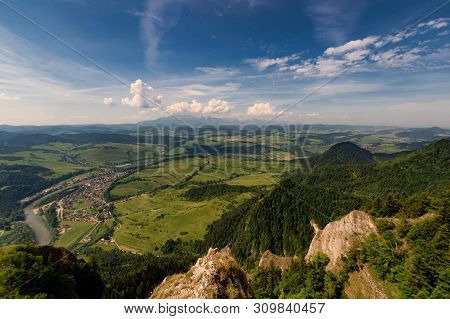 View Of The Tatras From The Highest Peak Of Three Crowns