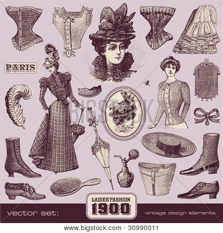 Ladies mode en accessoires (1900)
