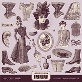 Ladies' Fashion and Accessories (1900) poster