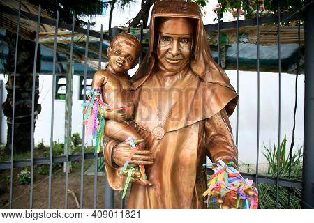 Sculpture Of Saint Dulce Of The Poor
