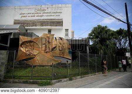 Sculpture Of Santa Dulce
