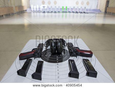 Guns Shooting Range