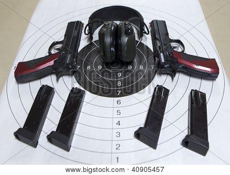 Guns Target