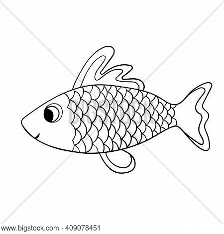 Cartoon Cute Fish. Vector & Photo (Free Trial) Bigstock