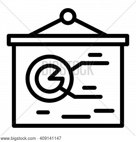 Market Segmentation Icon. Outline Market Segmentation Vector Icon For Web Design Isolated On White B