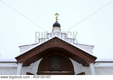 Entrance To John The Baptist Monastery In Sviyazhsk