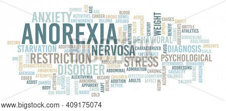 Anorexia as a Medical Concept Abstract Background Art
