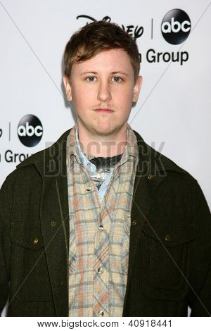 LOS ANGELES - JAN 10:  Johnny Pemberton attends the ABC TCA Winter 2013 Party at Langham Huntington Hotel on January 10, 2013 in Pasadena, CA