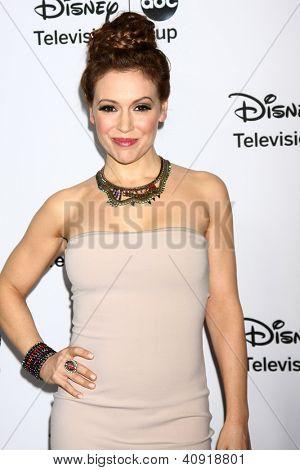 LOS ANGELES - JAN 10:  Alyssa Milano attends the ABC TCA Winter 2013 Party at Langham Huntington Hotel on January 10, 2013 in Pasadena, CA