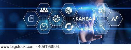 Kanban Agile Project Management Workflow Business Process Optimisation