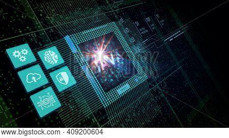 Software, Web Development, Programming Concept. Programming Languages Java And Program. Software Dev