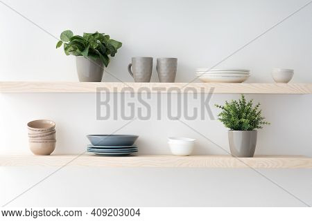 Scandinavian Minimalist Design In Interior Of Apartment, Flat For Rent Or Sale And Home Blog. Modern