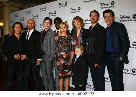 LOS ANGELES - JAN 10:   Red Widow Cast and Producer attend the ABC TCA Winter 2013 Party at Langham Huntington Hotel on January 10, 2013 in Pasadena, CA
