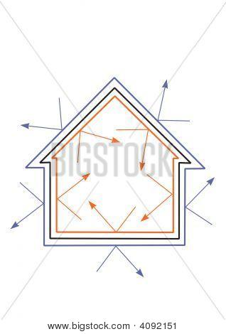 Energy Efficient House Conceptual Image