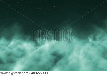 Gothic Haze Concept With Lights Bokeh Effect Creative Abstract Background For Any Purposes
