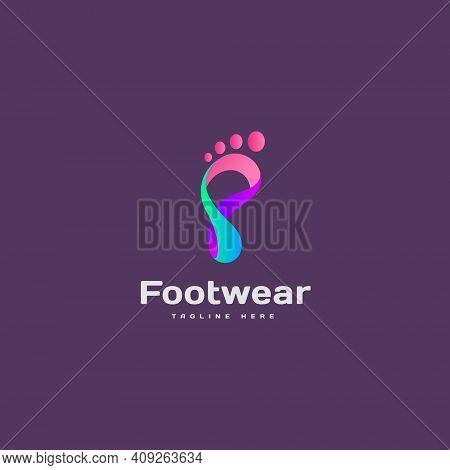 Footwear Logo Icon Design Vector Concept, Shoe Business Logo
