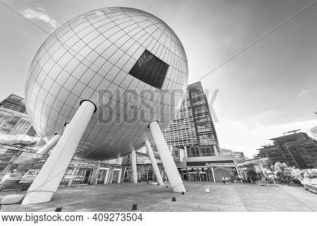 Hong Kong, China - May 27, 2018 : Hong Kong Science And Technology Parks In Hong Kong. Run By Hk Gov