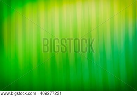 Abstract Green Gradient Background, With Vertical And Slanted Lines. Backgrounds.