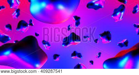 Fluid Color Background, Color Flashy, Fluid Gradient Shape Element Indeterminate Focus Shaped Like A