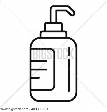 Groomer Soap Dispenser Icon. Outline Groomer Soap Dispenser Vector Icon For Web Design Isolated On W